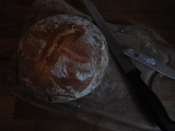 How to make sourdoughbread.